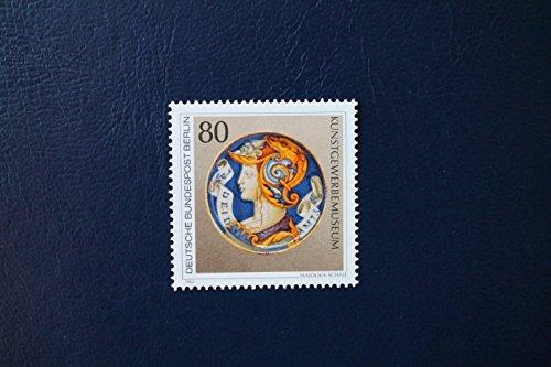 Robbert´s Briefmarken Berlin MiNr. 711, Kunstschätze in Berliner Museen Majolika-Schale, postfrisch
