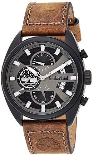 Timberland Reloj Multiesfera para Hombre de Cuarzo con Correa en Cuero TBL15640JLB.61