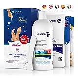 Hornhautentferner Nagelhautentferner Lösung Plus Pack - Mr. Fuss® No. 1-500ml - Stark Erweichend - Anti-Hornhaut, Anti-Zuwachs System -