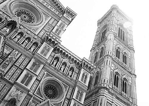 Duomo Di Firenze In Bianco E Nero 1000 Pezzi Di Puzzle In Legno Di Alta Qualità