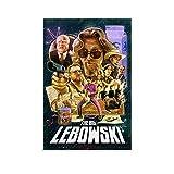 The Big Lebowski (1998) Poster, Leinwand-Kunstdruck,