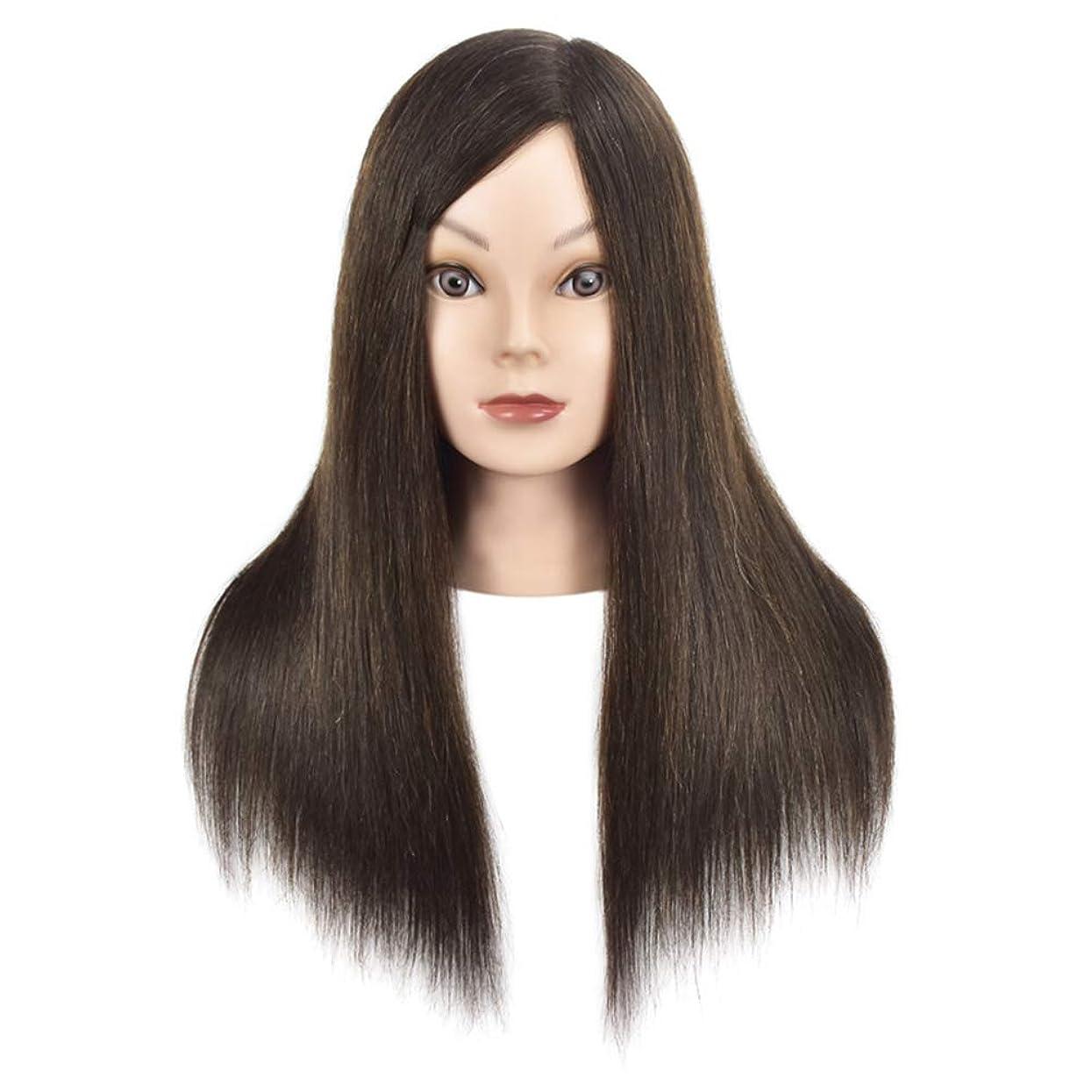 ファンブルの面では避難する理髪店トリミングヘアエクササイズヘッドモールドメイクモデリング学習マネキンダミーヘッドブラック