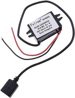 Shiwaki Dv Impermeable 12v 24v 36v (8-60v) Al Regulador del Convertidor 3.7v-12v 3a