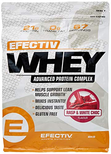 Efectiv Sports Nutrition Efectiv Whey Raspberry & White Chocolate. 2 KG