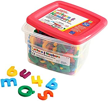 Educational Insights Multicolored AlphaMagnets & MathMagnets