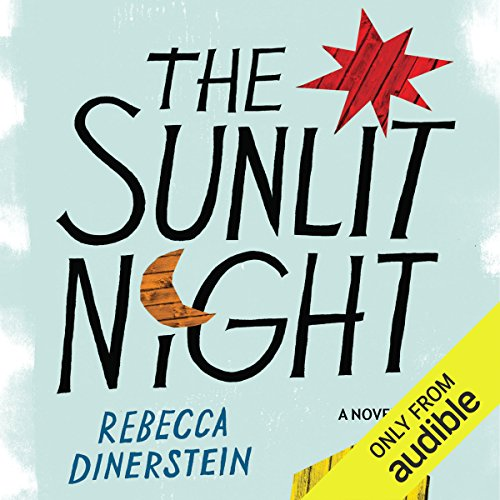 The Sunlit Night audiobook cover art