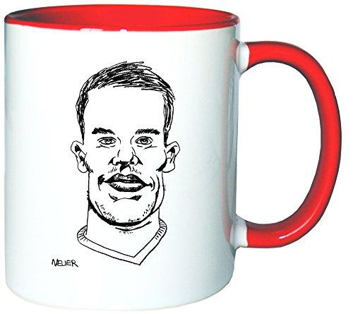 Mister Merchandise Kaffeetasse Becher Manuel Neuer Teetasse