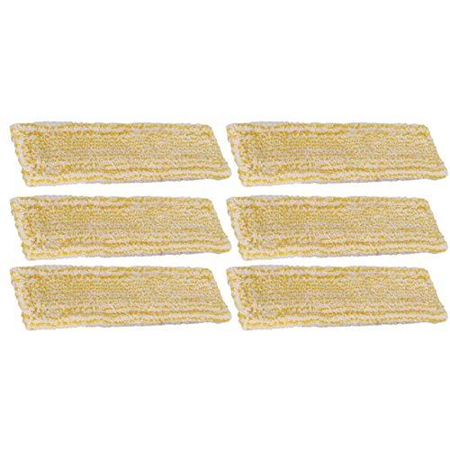 IUCVOXCVB Accesorios para aspiradoras 3/6/10 piezas de trapos de microfibra aptos para Karcher WV2 WV5 limpiador de ventanas, accesorios de repuesto para el hogar (color: 6 piezas)