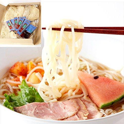 本場名産品!!老舗の盛岡冷麺4食スープ付き(100g×4袋) 冷麺 盛岡/メール便