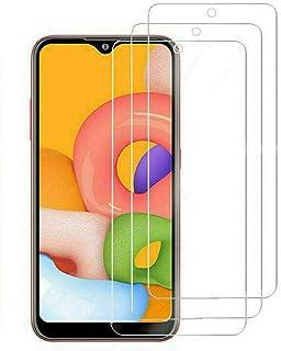 واقي شاشة من الزجاج المقوى لهاتف Samsung Galaxy A71 A51 A41 A31 A21S A11 3 قطع (لهاتف Galaxy A71)