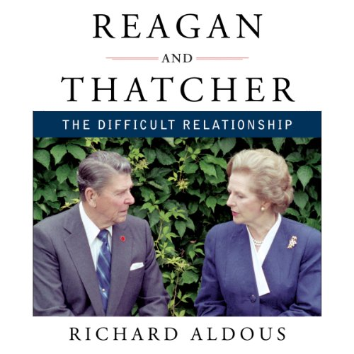 Reagan and Thatcher audiobook cover art