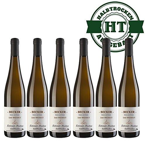 Weißwein Rheinhessen Silvaner Weingut Becker halbtrocken (6 x 0,75 l)