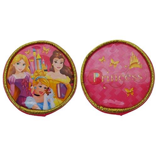 Disney Princess Porte-Monnaie Rond 8 cm Rose