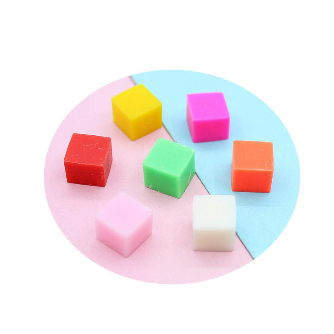 50g lot Fimo Polymer Clay Colorful F Sprinkles Square Simulation unisex Oakland Mall