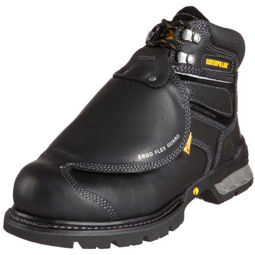 Caterpillar Men's Ergo Flexguard Boot,Black,7.5 W US