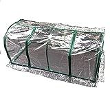 HAO KEAI Serre de Jardin PE Plastique Tente abri Maison en Plastique Mini Tunnel de Serre à Effet de Serre PVC Couverture étanche, Plantes de Balcon Grandes for Jardin extérieur Maison d'intérieur