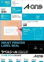 エーワン インクジェットプリンタラベル18面 28927 00030020【まとめ買い3パックセット】
