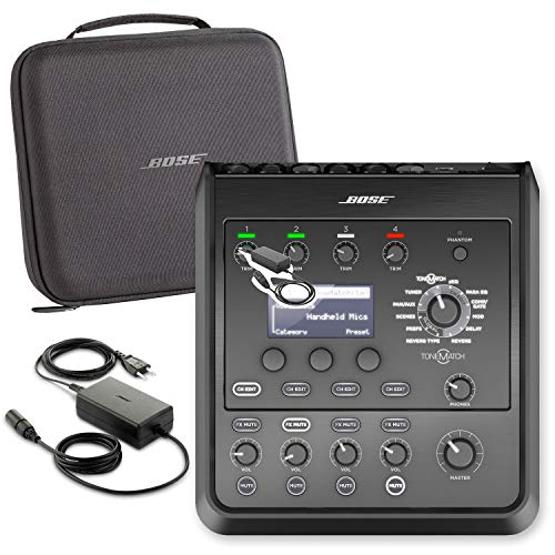Bose Professional T4S ToneMatch Compact 4-Channel Digital Mixer with ToneMatch Carry Case and Power Supply