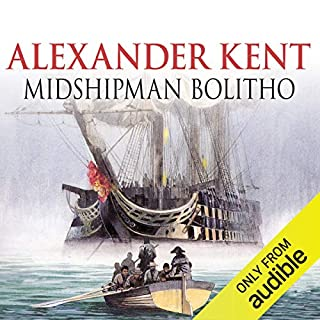 Midshipman Bolitho audiobook cover art
