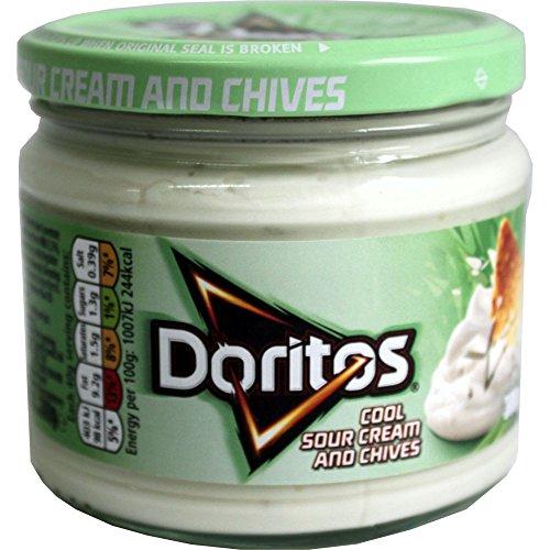 Doritos raffreddano Sour Cream & erba cipollina salsa di immersione 1 x 300g