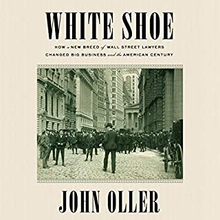 White Shoe audiobook cover art