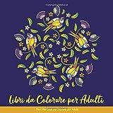 Libri Da Colorare Per Adulti: Fiori Mandala Da Colorare Per Adulti: Libro Da Colorare Per Adulti Mandala Semplici:  Libri Da Colorare Per Adulti ... Il Regalo Donna, Regali Natale Donna, Mamma