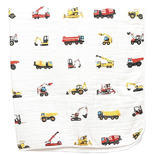 Product Image of the 100% Organic Muslin Everything Blanket - Oversized 47 inches x 47 inches -...