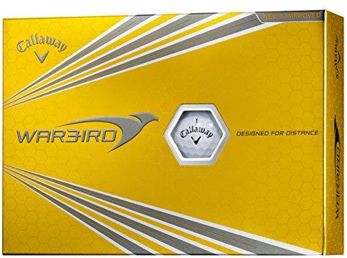 Callaway(キャロウェイ) ゴルフボール WARBIRD 1ダース(12個入り) ホワイト