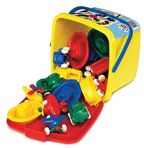 VIKINGTOYS Mini Chubbies in Bucket Set, 16 Pcs.