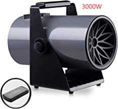 Calentador Industrial Calentador Eléctrico Protección contra Sobrecalentamiento 3KW / 220V, Control Remoto De Sincronización, Cuerpo De Calefacción PTC, Ajuste De Ángulo Y Sopladores De Aire Calient