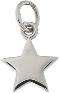 14k Yellow, White or Rose Gold Tiny Star Pendant Necklace