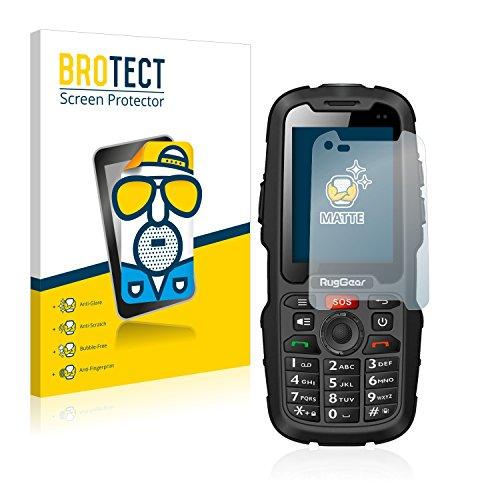 BROTECT 2X Entspiegelungs-Schutzfolie kompatibel mit RugGear RG310 Bildschirmschutz-Folie Matt, Anti-Reflex, Anti-Fingerprint