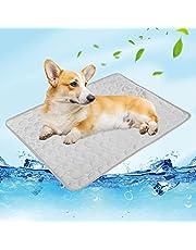 NIBESSER Mata chłodząca dla psów, samochłodząca mata dla psów, na lato, wodoszczelna, antypoślizgowa mata dla psów, do domu, w podróży lub w samochodzie
