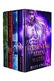 Elemental Alien Mates: the complete elemental alien warrior romance series