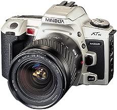 Minolta Maxxum XTsi 35mm Auto Focus SLR Camera with 28-80mm Silver Zoom Lens