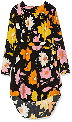 SELECTED FEMME Damen 16070568 Kleid, Mehrfarbig (Black Black), (Herstellergröße: 42)
