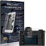 OnScreen Schutzfolie Panzerglas kompatibel mit Leica SL2-S Panzer-Glas-Folie = biegsames HYBRIDGLAS, Bildschirmschutzfolie, splitterfrei, MATT, Anti-Reflex - entspiegelnd