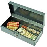 Steelmaster Cash Box with Lock, 1 Each (2212CBGY)
