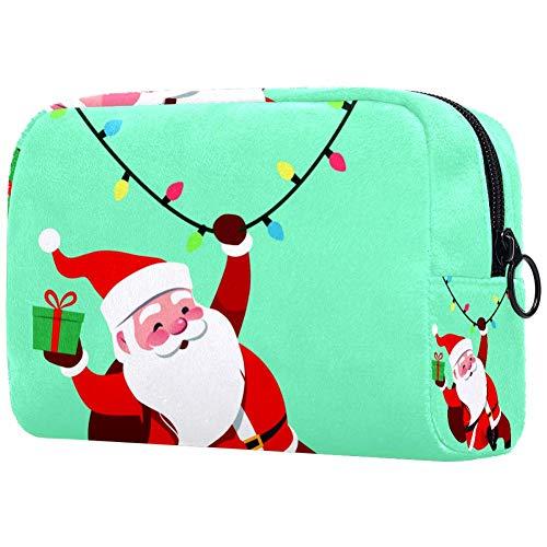 Swinging Santa Claus Griff Reißverschluss für Make-up, Elektronik-Werkzeug, Einkaufen, College Reisen
