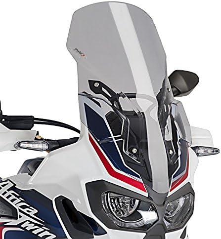 Smoke Touring Windscreen Puig 7007H For 14-15 Honda VFR800//D