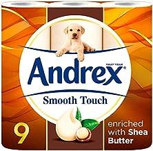 andrex shea butter toilet tissue