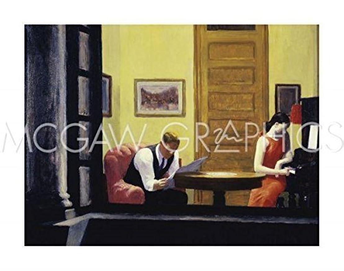 階層混雑認知Room in New York, 1932 by Edward Hopper, Art Print Poster 11