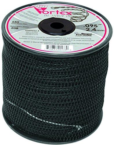 Bobine fil nylon hélicoïdal copolymère VORTEX – 3,90 mm x 76m – qualité professionnelle – fabrication américaine
