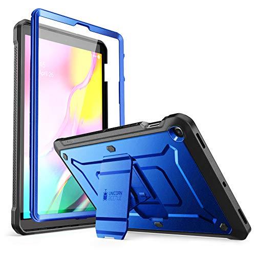 SupHülle Hülle für Samsung Galaxy Tab S5e 10.5 Zoll 2019 Bumper Hülle 360 Grad Schutzhülle Robust Cover [Unicorn Beetle PRO] mit integriertem Bildschirmschutz & Ständer (SM-T720 / T725) (Blau)