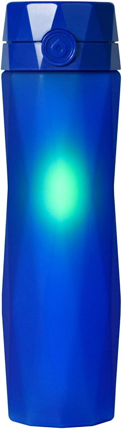 Hidrate Spark 2.0 Smart Water Bottle (Royal blueee)  Tracks Water Intake & Glows to Remind You to Stay Hydrated