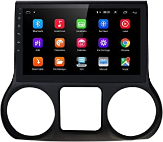Android 10 OS 10.1 inch Video Player Auto-Navigation Car Radio Bluetooth WiFi for JEEP Wrangler 2011 2012 2013 2014(2G RAM...