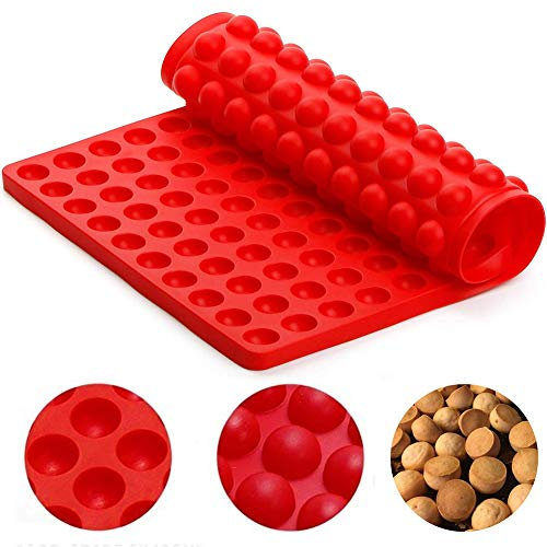 BESLIME Silikon Backmatte - Nicht haftend Silikon-Backmatte,Silikon Backmatte mit Noppen,wiederverwendbar, antihaftbeschichtet, rutschfest, Lebensmittelecht BPA-frei und geruchslos