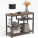 Tribesigns - Mesa auxiliar vintage de madera y metal, para salón, también como aparador, mesita de noche, mesa de...