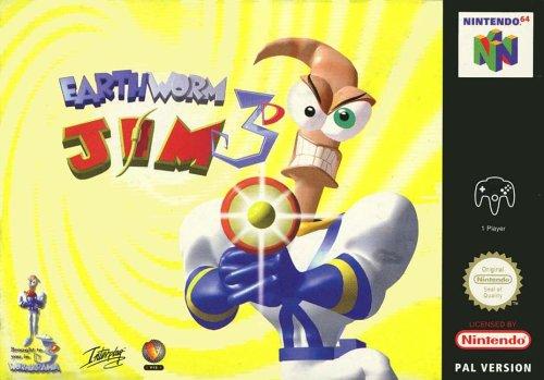 Earthworm Jim 3D - Nintendo 64 - PAL