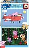 Educa - Peppa Pig 2 Puzzles de 16 Piezas, Multicolor (17157)